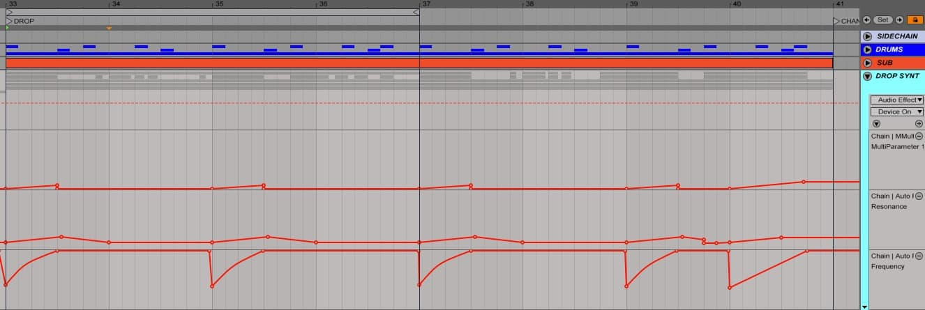ableton automation