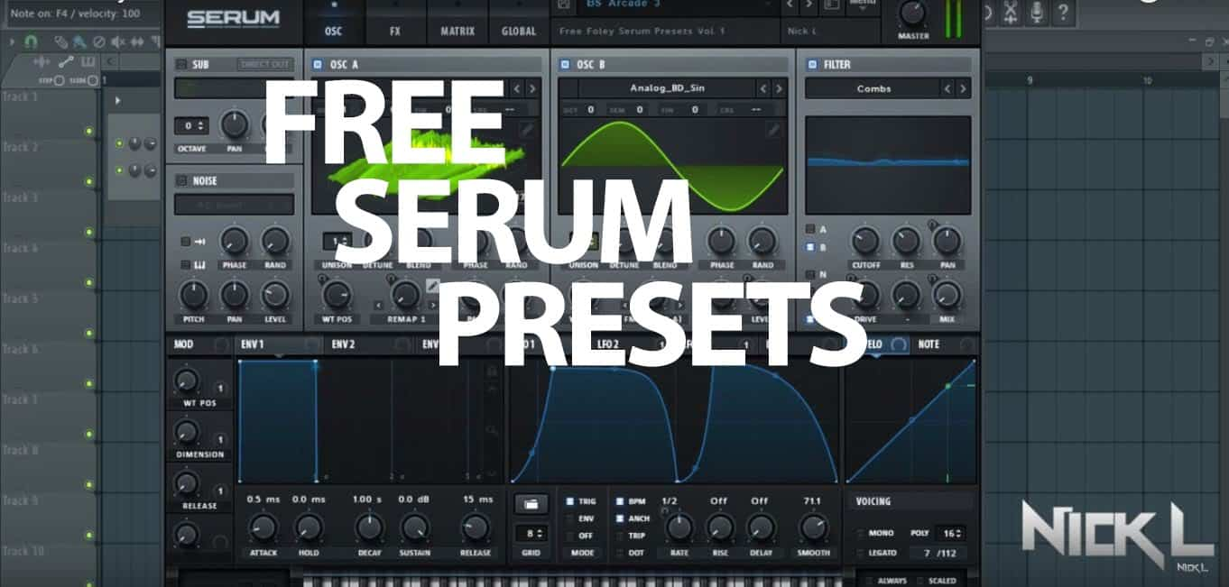 Synths Free Presets - SoundShock